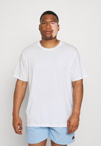 Johnny Bigg - ESSENTIAL CREW NECK TEE - Basic T-shirt - white - 0