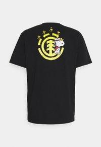 Element - PEANUTS EMERGE - T-shirt print - flint black - 1