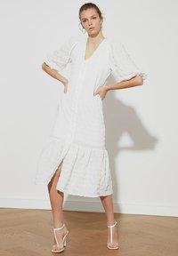 Trendyol - Shirt dress - cream - 0