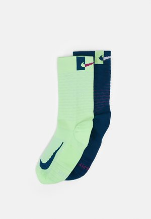 MULTIPLIER CREW 2 PACK UNISEX - Sports socks - multicolor