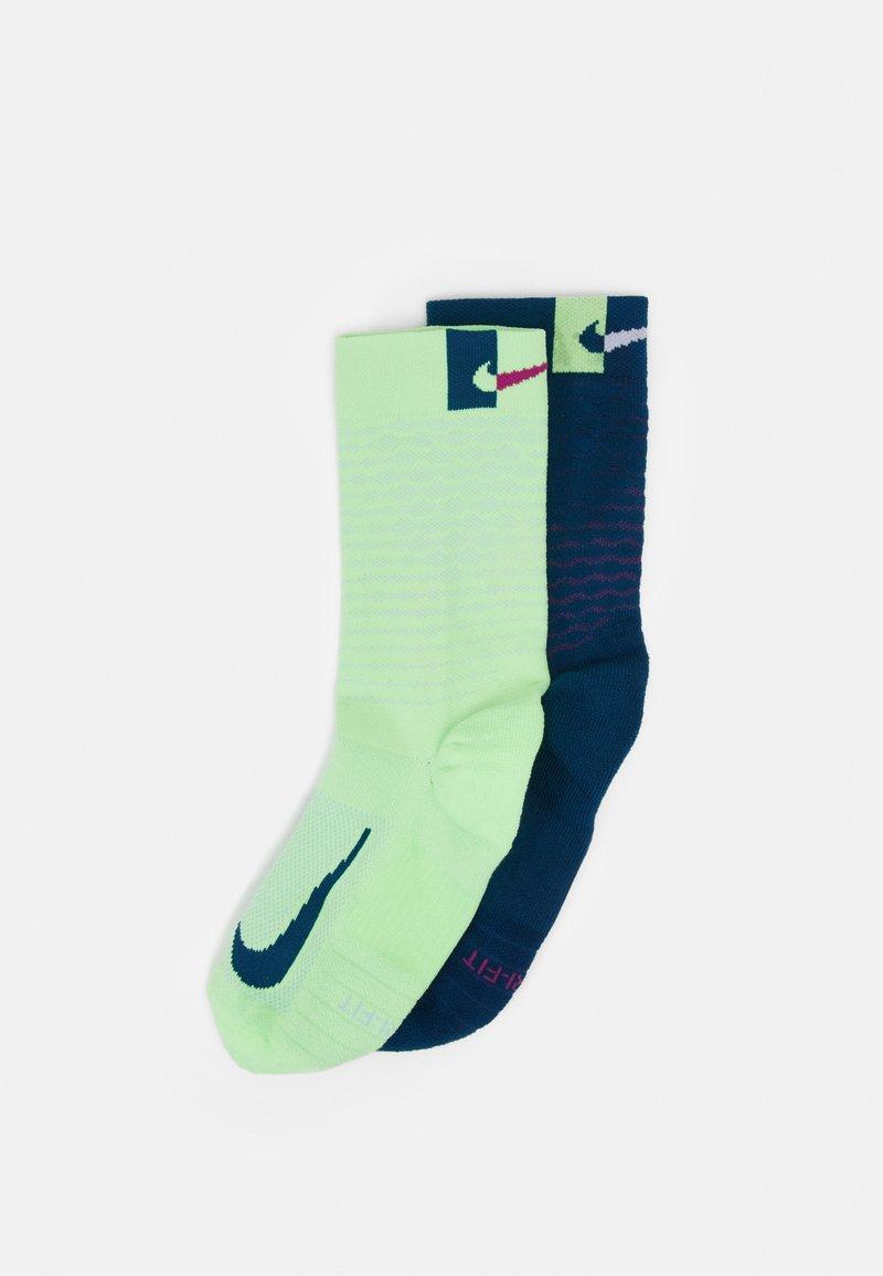 Nike Performance - MULTIPLIER CREW 2 PACK UNISEX - Sports socks - multicolor
