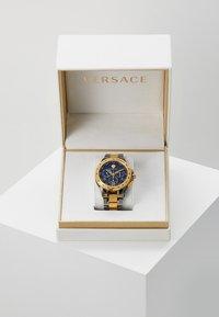 Versace Watches - SPORT TECH - Chronograph watch - gold-coloured/gun - 3