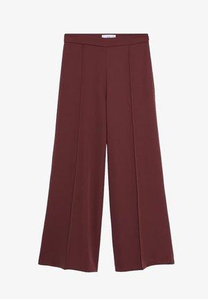 ELODY - Trousers - wine