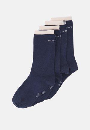 SOCKS 4 PACK - Ponožky - indigo