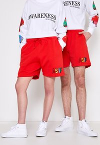 AS IF Clothing - COZY UNISEX - Tracksuit bottoms - red - 0
