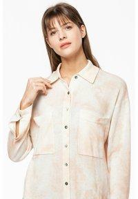 Rosa & Me - Button-down blouse - braun/weiß - 2