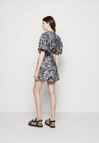 Faithfull the brand - GODIVA WRAP DRESS - Denní šaty - black - 2