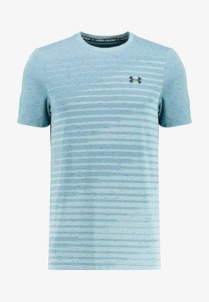 SEAMLESS FADE - Sports shirt - aqua