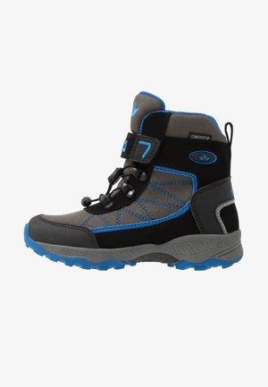 PELLE - Zimní obuv - grau/schwarz/blau