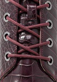 Bianco - BIAASTA WARM WEDGE - Ankle boot - burgundy - 2