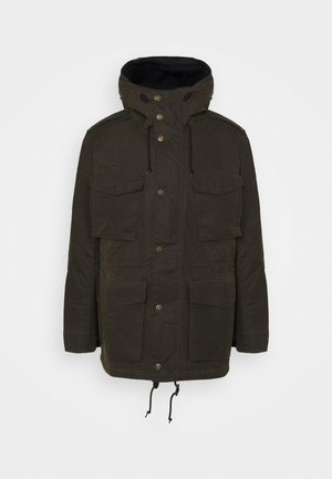 NAUTIC WAX - Winter coat - fern