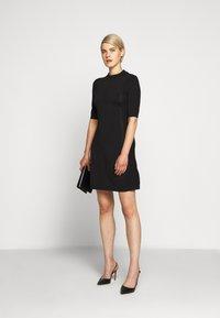 HUGO - SHATHA - Pletené šaty - black - 1