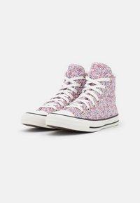Converse - CHUCK TAYLOR ALL STAR - Zapatillas altas - vintage white/pink foam/infinite lilac - 2