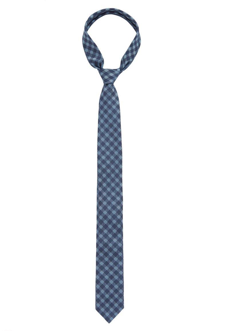 BOSS - Tie - dark blue