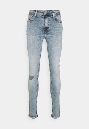 SUPER SKINNY - Jeans Skinny Fit - denim light