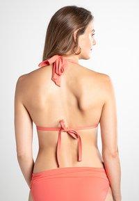 Lauren Ralph Lauren - BCS MOLD CUP SLIDER - Bikini top - coral reef - 2