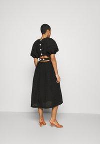 CMEO COLLECTIVE - DISPERSE DRESS - Denní šaty - black - 2