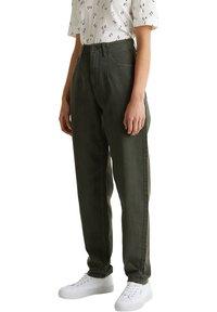 edc by Esprit - Straight leg jeans - khaki green - 0