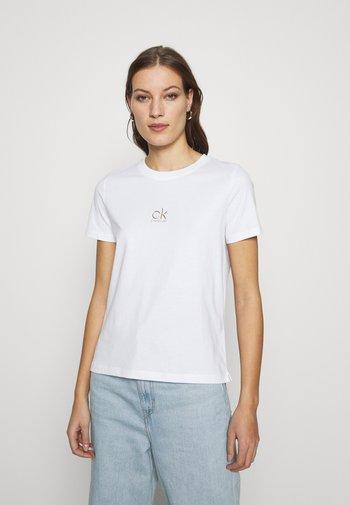 LOGO TEE - Printtipaita - off white