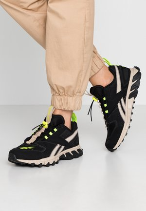 DMXPERT - Trainers - black/modern beige/neon lime