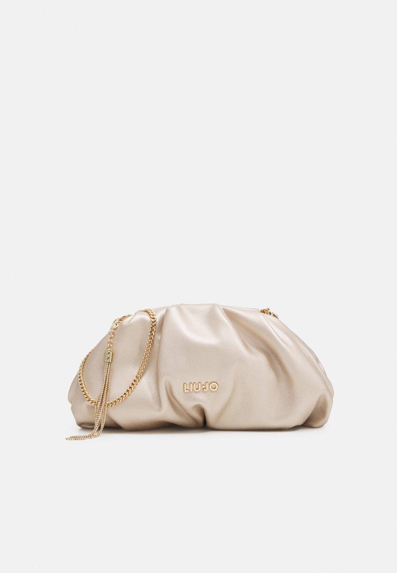 LIU JO - POCHETTE - Across body bag - light gold