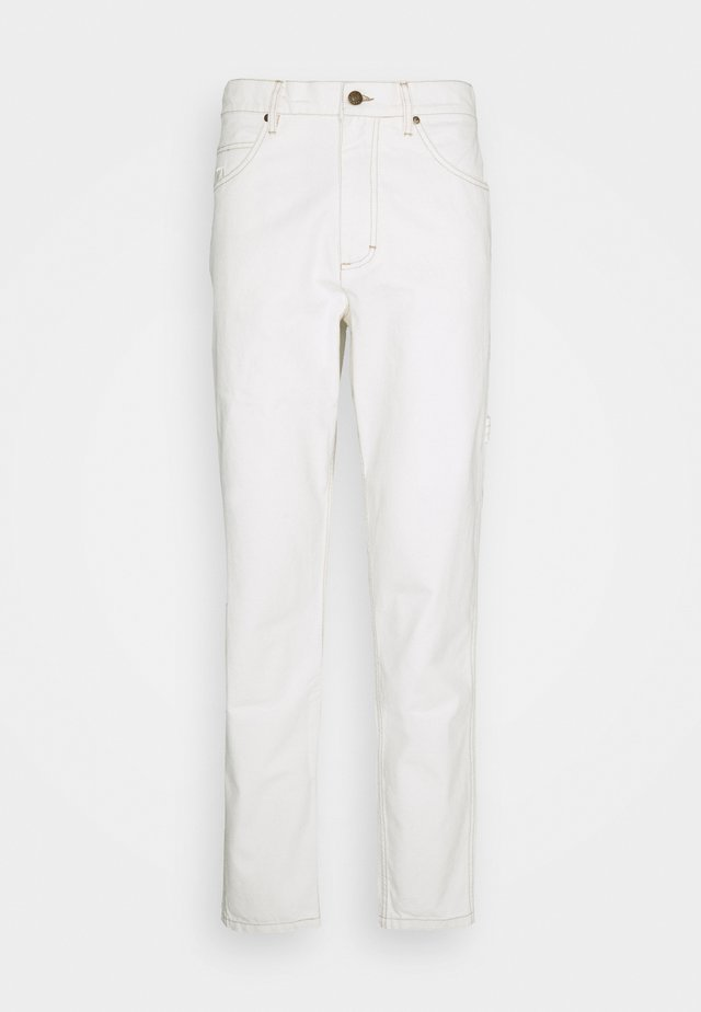 UNISEX - Relaxed fit jeans - white