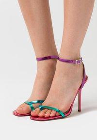 BEBO - TREVIA - Sandaler med høye hæler - pink/multicolor - 0