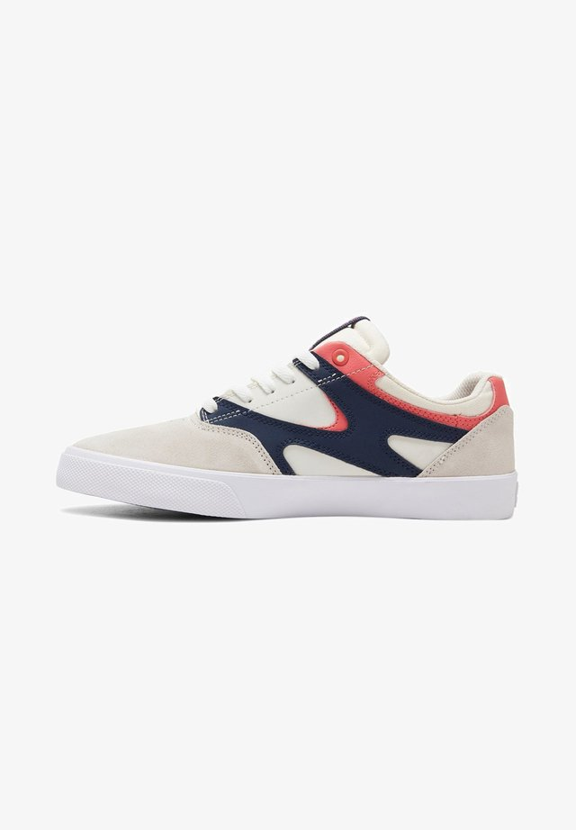 KALIS UNISEX - Chaussures de skate - white/navy/red