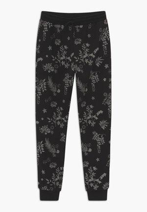 JULIUS - Teplákové kalhoty - black