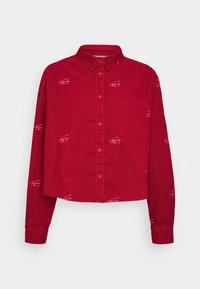 Tommy Jeans - CRITTER  - Button-down blouse - wine red - 5