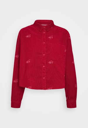 CRITTER  - Button-down blouse - wine red