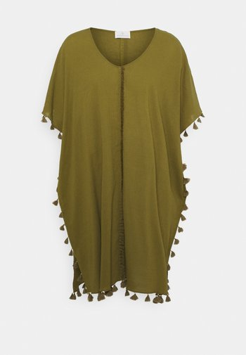 COVER UPS - Beach accessory - warm olive