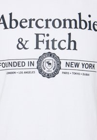 Abercrombie & Fitch - 3 PACK - T-shirt med print - white - 6