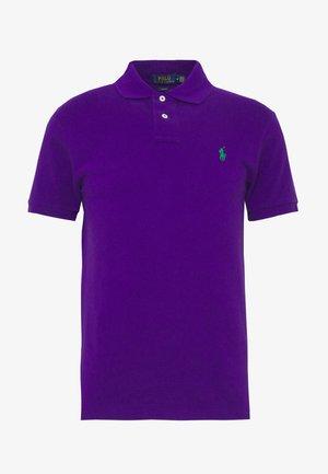SHORT SLEEVE KNIT - Polo - chalet purple