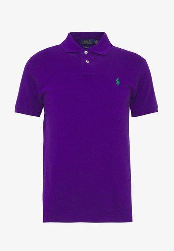 SHORT SLEEVE KNIT - Polo shirt - chalet purple