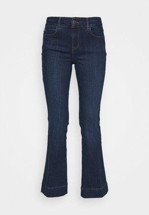 Flared Jeans - dark auth