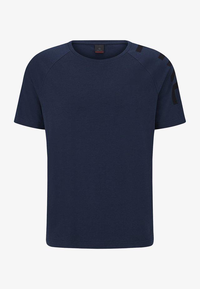 ROGER - T-shirt imprimé - navy-blau