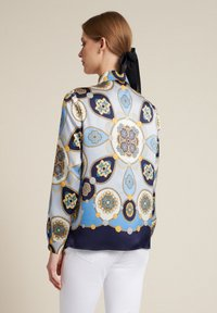 Luisa Spagnoli - Button-down blouse - var blu/celeste/blu - 1