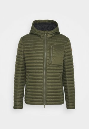 DIEGO HOODED JACKET - Välikausitakki - dusty olive