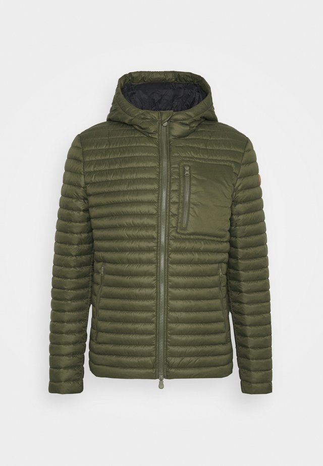 DIEGO HOODED JACKET - Light jacket - dusty olive