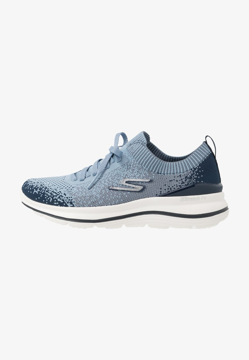 Skechers Performance - GO WALK STRETCH FIT - Walking trainers - navy/blue