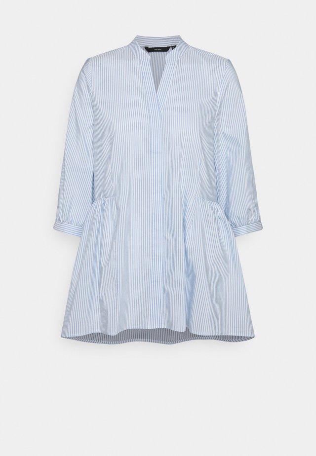 VMCLARA 3/4 LONG - Bluse - snow white/cashmere blue