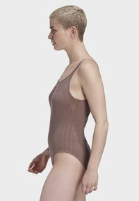 adidas Originals - RIBBED BODYSUIT - Body - brown