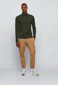 BOSS - TROLLFLASH - Long sleeved top - open green - 1