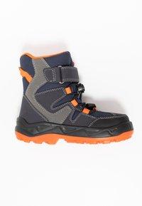 Lurchi - KALINO SYMPATEX - Lace-up ankle boots - atlantic/orange - 1