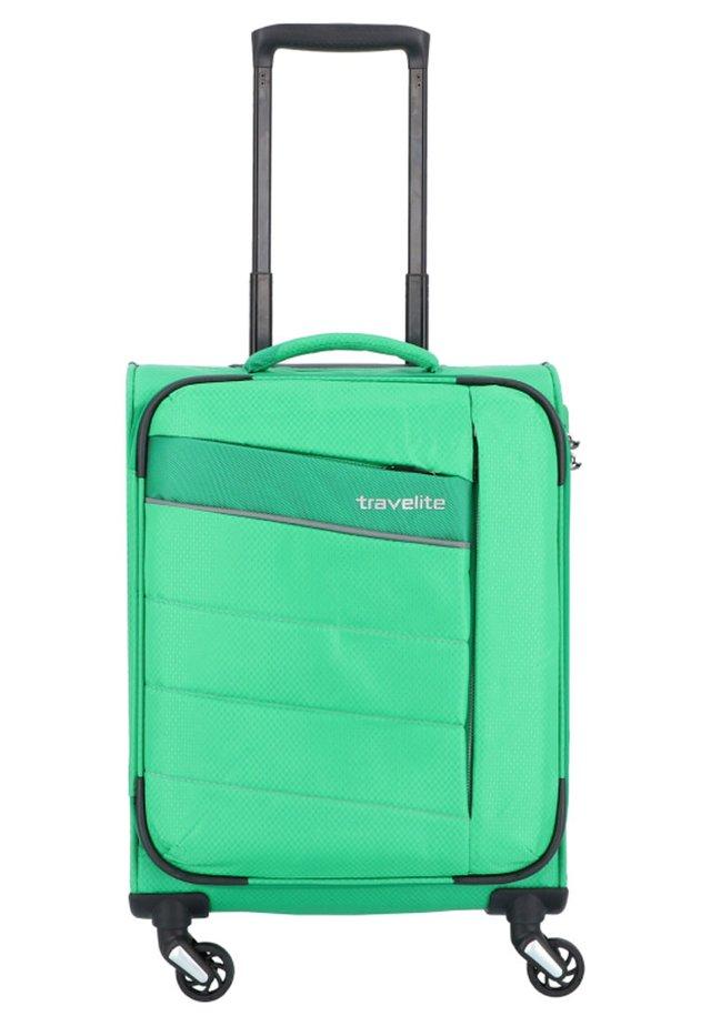TRAVELITE KITE S 4-ROLLEN KABINENTROLLEY 54 CM - Wheeled suitcase - grasgrün