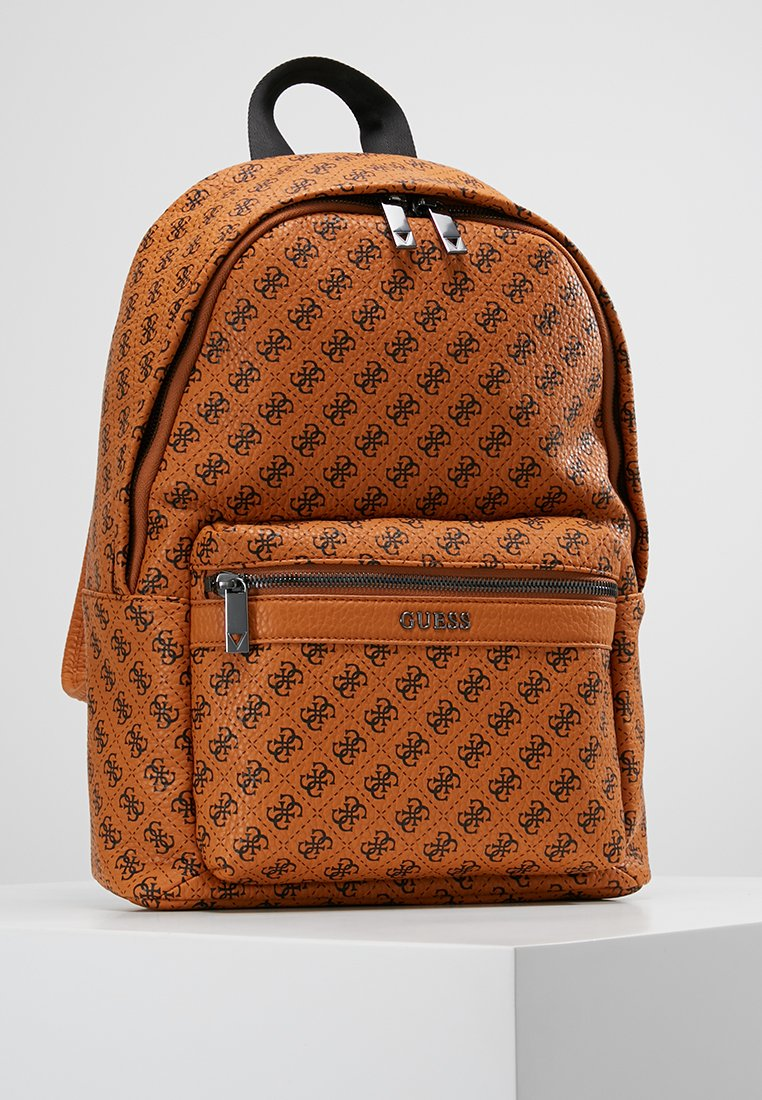 Guess - CITY LOGO BACKPACK - Rucksack - orange