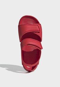 adidas Performance - ALTASWIM - Sandales de randonnée - red - 1