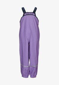 Playshoes - Spodnie przeciwdeszczowe - flieder - 0