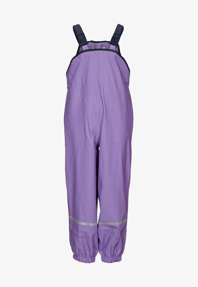 Rain trousers - flieder